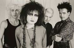 SATB with Robert Smith, 1983