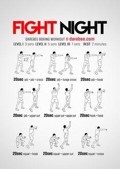 Fight Night Workout
