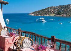 Baia Sardinia Beach fron the Club Hotel