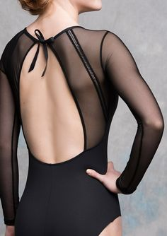 Marcela Leotard with Mesh                                                                                                                                                                                 More