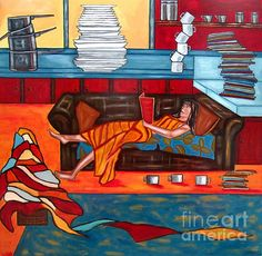 Housework Copyright by Sandra Marie Adams--- Click Image to see larger view. -- Many Framed, Metallic, Acrylic, and GalleryWrapped Canvas choices or unframed Prints. Popular Paintings, Figure Painting, Artist At Work, Fine Art America, Fine Art Prints, Original Paintings, Wall Art, Cool Stuff, Canvas