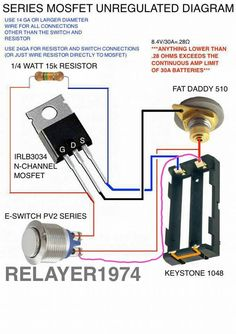 Series mosfet unregulated