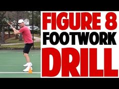 Tennis Forehand Figure 8 Footwork Drill (Top Speed Tennis) - YouTube