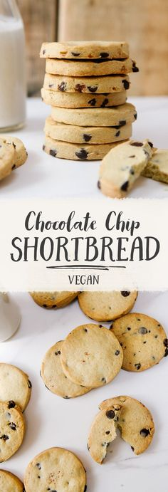 Dairy-free Chocolate Chip Shortbread