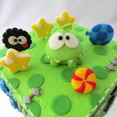 Clever Wren: Cut the Rope Cake