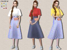 ChloeMMM's ChloeM-Tshirt and skirt