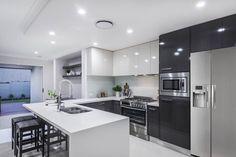 Kitchen and Living   Ausbuild
