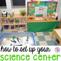 Setting Up a Science Center in Your Early Childhood Classroom (from Pocket of Preschool)