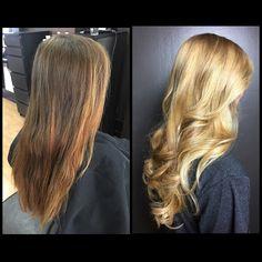 #balayage #hairpainting #blonde #athensga #athenshairsalon #pageboysalonathens