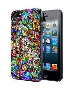 All Characters Disney Stained Glass Samsung Galaxy S3 S4 S5 Note 3 case, iPhone 4 4S 5 5s 5c case, iPod Touch 4 5 case
