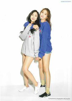 """SinB & Sowon for Dazed Korea June 2018 Issue"" Extended Play, South Korean Girls, Korean Girl Groups, Sinb Gfriend, Ailee, Latest Music Videos, Entertainment, G Friend, How To Show Love"