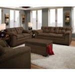 Simmons Upholstery - Velocity 2 Piece Sofa Set In Espresso - 6765-2Set