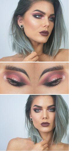 TODAYS LOOK | WINTER GLAM - Makeup by Linda Hallberg