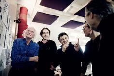 Willem, Riss, Patrick Pelloux, Luz et Gérard Biard.