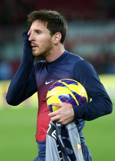 Lionel Messi....the haircut is insanely good!!