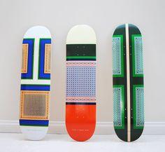 Céline Skateboard Decks.