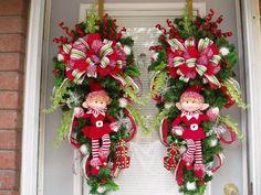 ideas-decorar-puerta-navidad-diy (13) | Curso de organizacion de hogar aprenda a ser organizado en poco tiempo