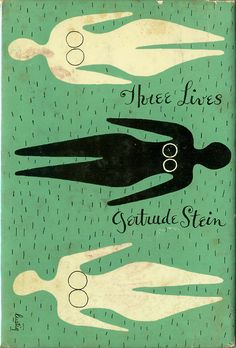 a brilliant book by gertrude stein with fantastic cover art by alvin lustig.