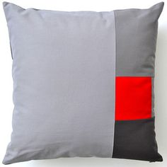 Scully Pillow 18x18 by Liz Jaff now featured on Fab.
