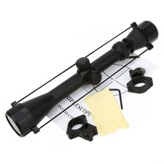 3-9X40 Adjustable Tactical Riflescope Reticle Sight Scope for Shotgun Rifle Hunting