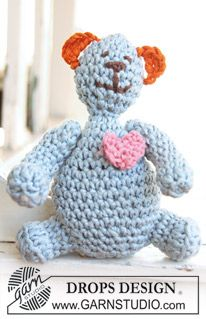 Supercute but directions are in British not American Crochet Terms... working on translating!
