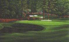 White Dogwood 11th Hole Augusta National (Item 101) http://www.golfcourseartwork.com/golf-prints/augusta-national-golf-course-prints/11th-hole-white-dogwood-1/11th-hole-white-dogwood-augusta-national-golf-art-marci-rule