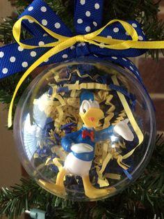 Donald Duck Globe Ornament by LulusCraftyCorner on Etsy