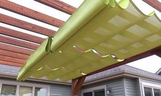 Have you got an area where you want shade in summer but lots of sun in winter? Or maybe you have an area where you want morning or late afternoon sun but you want midday shade. Then this DIY project is for you! This convenient and stylish canopy slides easily on the cables they hang from to protect you from the sun, and is also easily retractable for when you want a little more sunlight. It can be installed on any pergola and other freestanding structures, so this DIY project is definitely fo...
