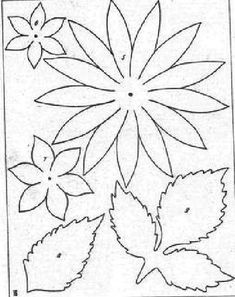 lots of flower templates here