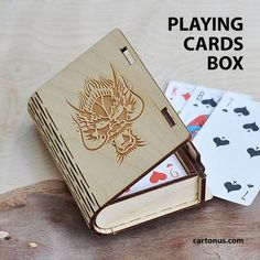 http://cartonus.com/box-with-sliding-bolt-latch/ Box with sliding bolt latch Lasercut vector model suitable for business card holder, playing cards box, cigarette case, jewelry box, gift box, box with locking mechanism – sliding bolt latch. Create of plywood 3,2 mm. Dimension internal: 54x94x20 mm. Dimension external: 77x108x29 mm. Useful thing!