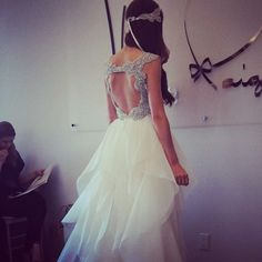 Hayley Paige bridal 2014 #cameo #yyc #bridal #wedding #dress #dresses #love #jlm
