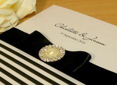 Black & White Wedding Invitations | Black Wedding Invitations