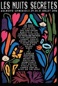 Festival Les Nuits Secrètes 2016