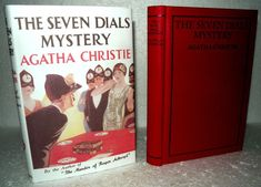 Agatha Christie - The Seven Dials Mystery. This Novel forms part of an issue of the Agatha Christie book Collection. The Seven, Agatha Christie, Book Collection, Mystery, Novels, Boards, Author, Learning, Ebay