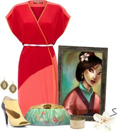 """Calliope's Pick """"Mulan"""" by capehler on Polyvore"""