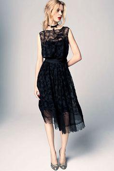 Little black dress - Nina Ricci Pre-Fall 2012