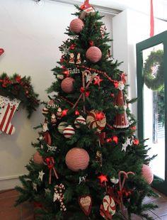 decoracion de arbol de navidad buscar con google