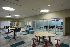 Joplin Middle School - All - Gallery | NanaWall - Operable Glass Wall Systems
