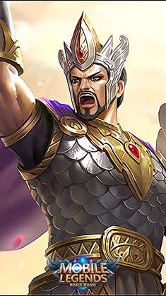 Minsithar_God of War Mobile Legend Wallpaper, Wallpaper S, The Legend Of Heroes, Games Images, Mobile Legends, God Of War, Bang Bang, Batman, Marvel