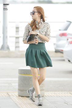 SNSD Jessica Incheon Airport 140604 to Nagoya