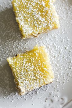Gluten free brown sugar lemon bars!