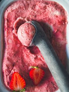 No Bake Desserts, Dessert Recipes, Nice Cream, Recipes From Heaven, Sweet Cakes, Fabulous Foods, Sweet And Salty, Frozen Treats, Yummy Drinks