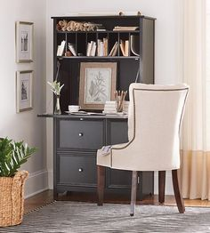something like this for the boys secretary/desk in bsmt bedroom.