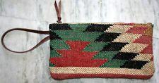 Small Kilim Handmade Jute Rug Bag Vintage Women's Handbag,Clutch, tote-bag,Purse