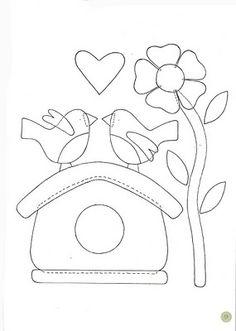 Ideas Embroidery Patches Designs Applique Patterns For 2019 Embroidery Patches, Embroidery Applique, Embroidery Patterns, Quilt Patterns, Flower Applique Patterns, Applique Templates, Applique Designs, Felt Applique, Applique Quilts
