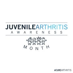 July is Juvenile Arthritis Awareness Month. That's right, kids get arthritis. Nearly children in America have been diagnosed with juvenile arthritis. Juvenile Arthritis, Did You Know, Knowing You, Children, Kids, The Cure, America, Math, Young Children