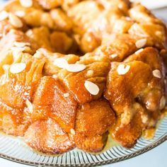 Holy cow, is this dessert recipe one for the books! If you're ready to fully indulge your sweet tooth, this bear claw monkey bread is just the ticket. It combines the magic of bakery pastries with the unforgettable cinnamon flair of fabulous monkey bread for one seriously stunning treat.