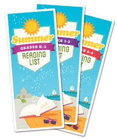 CHICAGO - The Association for Library Service to Children (ALSC), a division of the American Library Association (ALA), has created three Summer Reading book lists, which feature recommended book titles for Kindergarten through grade students. Reading Activities, Kids Reading, Teaching Reading, Library Lessons, Library Books, Library Ideas, Summer Reading Program, Summer Reading Lists, Best Books List