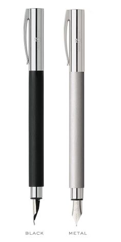 Faber-Castell: Ambition Fountain Pen Collection, Dempsey & Carroll