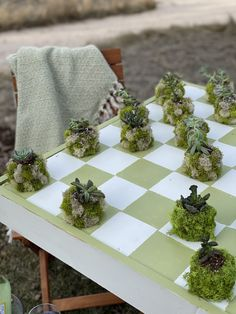 Up Cycled Checkerboard